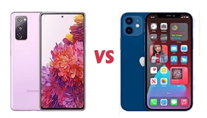 perbandingan samsung dan iphone